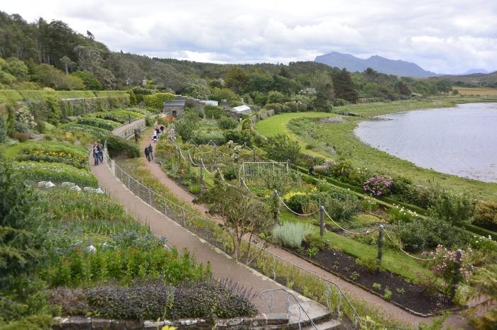 Walled garden at Inverewe