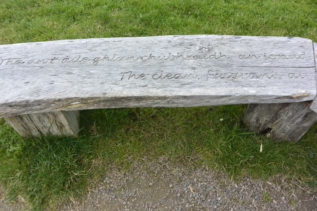 Inverewe bench
