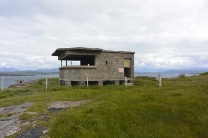 WW2 ruins, Loch Ewe