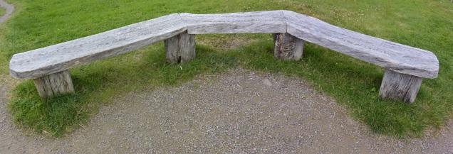 Inverewe bench
