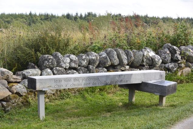 Culloden bench