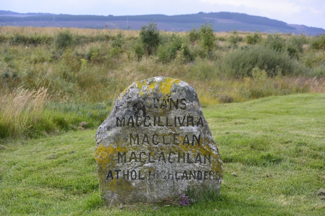 Clans MacGillivray, MacLean, MacLachlan - Atholl Highlanders