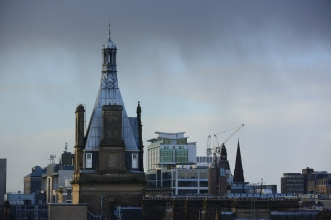 View from Glasgow Lighthouse Tower