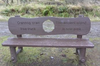 Loch Ard bench