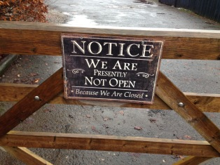 We are not open