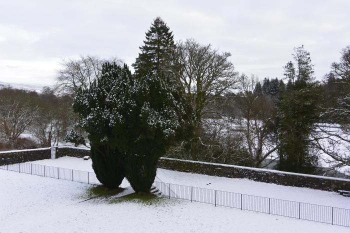 Garden at Mugdock Castle