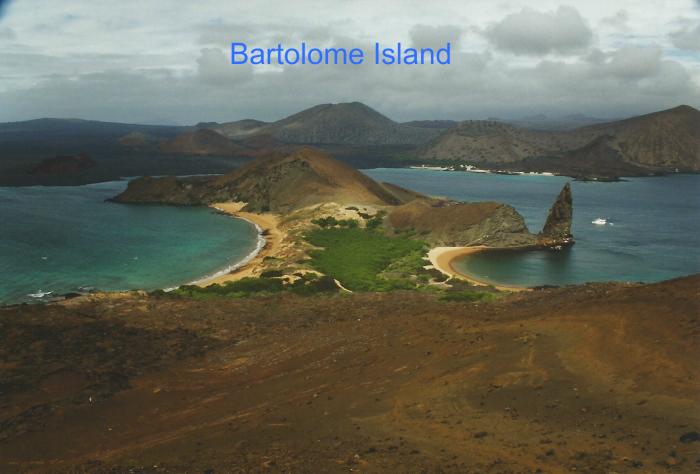 Sullivan Bay and Pinnacle Rock, Bartolome Island