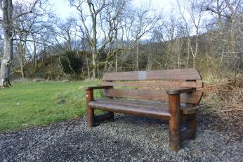 Carpark bench