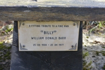 Billy's bench