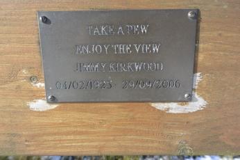 Take a pew, enjoy the view