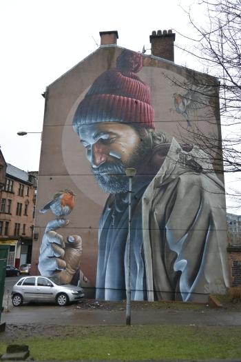 St Mungo mural