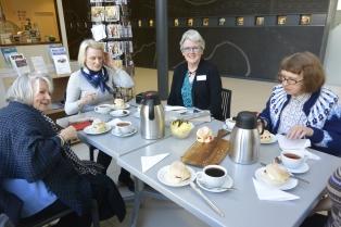 Tea party at Maryhill Halls