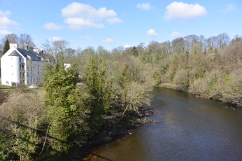 River Clyde at Blantyre