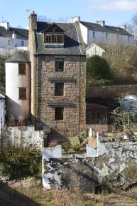 House by bridge