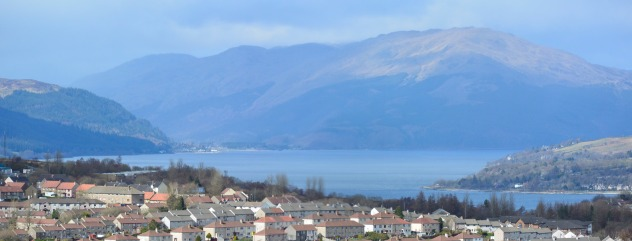 Greenock from the Cut