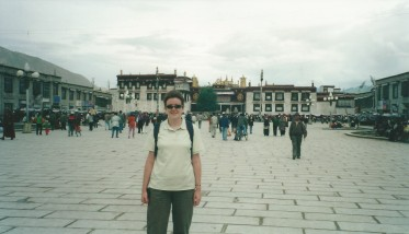 Barkhor Square and Jokhang