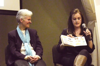 Lynne Rickards and Kate McLelland