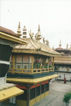 Dalai Lama's quarters at the Jokhang