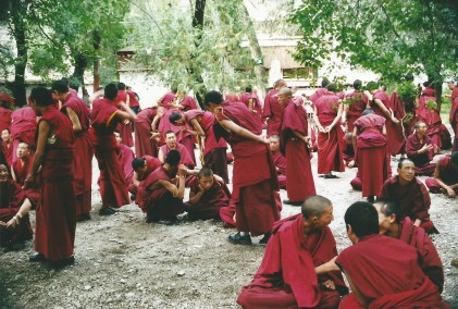 Sera Monastery monks debating