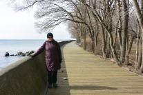 Ward's Island boardwalk