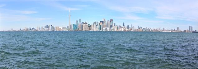 Toronto from Ward's Island