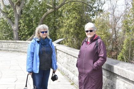 Birgit and Anabel