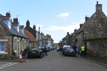 Lindisfarne - village