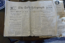 Old newspaper