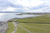 Lindisfarne from the castle