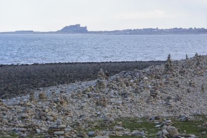 Lindisfarne below the castle