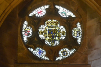 King's Hall window
