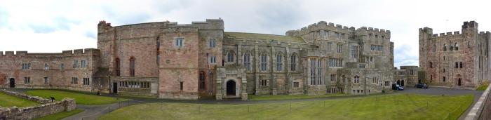 Bamburgh Castle panorama