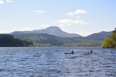 Loch Ard and Ben Lomond