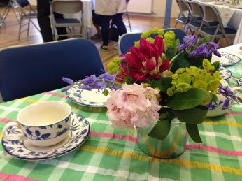 Tea in Muckhart Village Hall