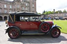 Veteran cars at Drumlanrig Castle