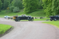 Old cars at Drumlanrig