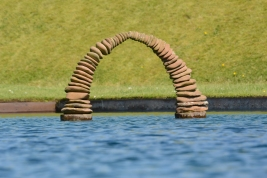 Arch at the Life Mounds