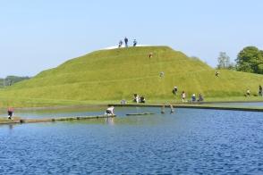 Life Mounds by Charles Jencks