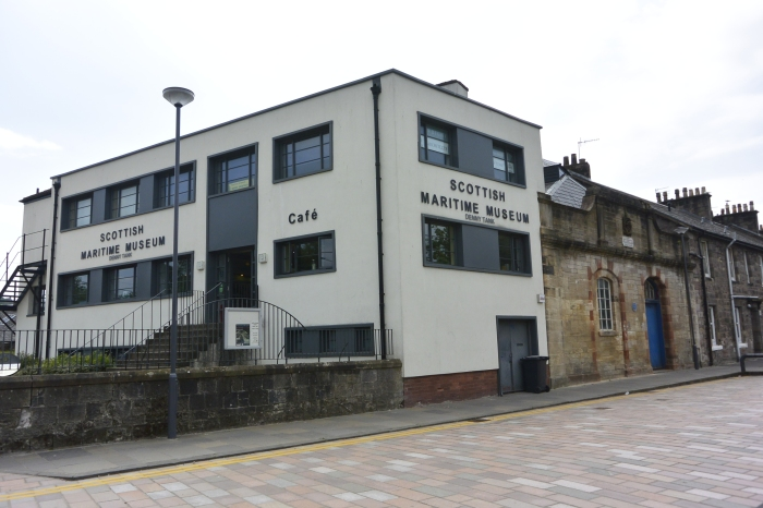 Scottish Maritime Museum: Denny Tank