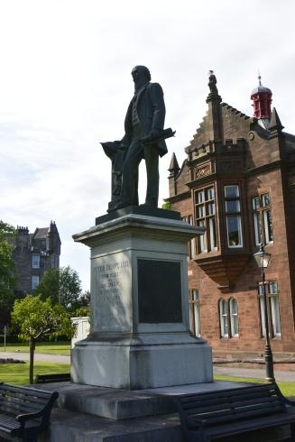 Peter Denny statue