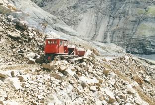 Second landslide