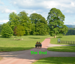 Old car at Drumlanrig