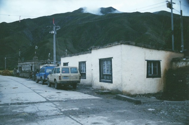Teahouse and our Landcruisers
