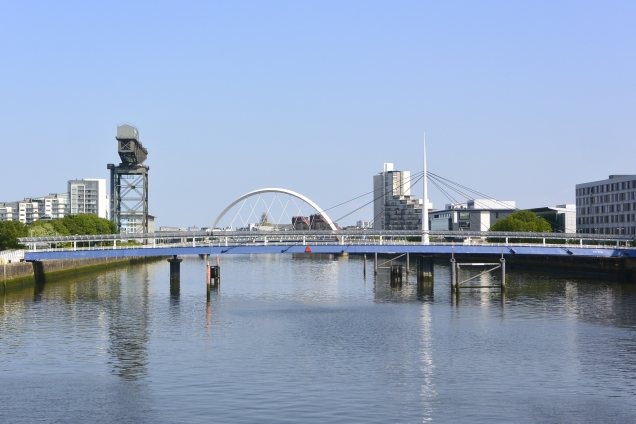 Bell's Bridge and Clyde Arc