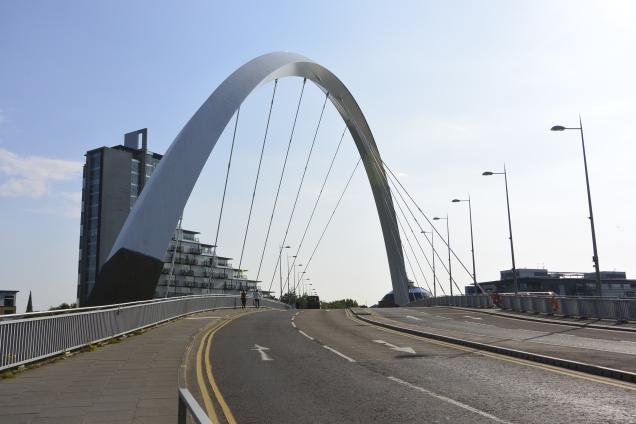 Squinty Bridge (Clyde Arc)
