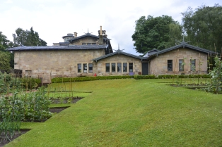 Kitchen garden and back view