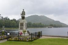 War Memorial and Loch Fyne