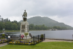 War Memorial and Loch Fyne