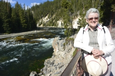At Brink of Lower Falls