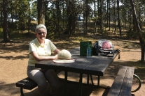Picnic at Wapiti Lake Trailhead